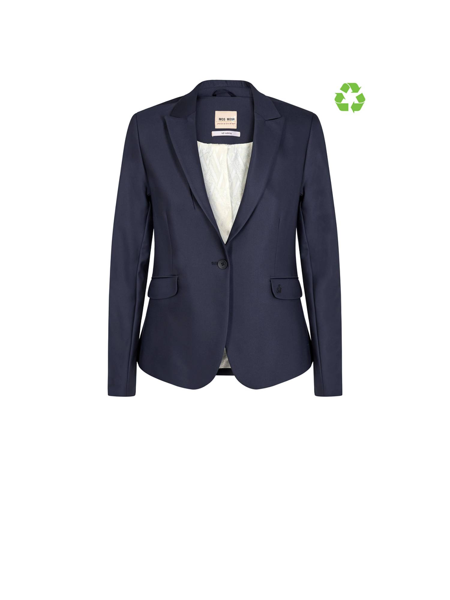 Mos Mosh 112579 Blake Night Blazer Sust. 469 Navy | Pico Women Fashion & More