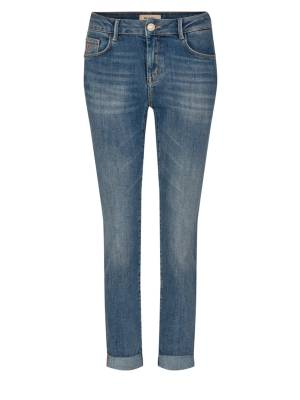 Mos Mosh 5-pocket jeans Mos Mosh 135290 Sumner Re-Loved Jeans 406 Light blue, Ankle