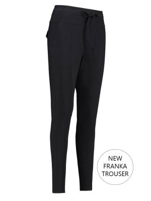 Studio Anneloes Stretch broek Studio Anneloes New Franka Trouser 9000 Black
