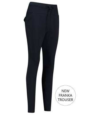 Studio Anneloes Stretch broek Studio Anneloes New Franka Trouser 6900 Dark Blue