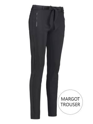 Studio Anneloes Effen broeken Studio Anneloes Margot Trouser 9900 Dark grey