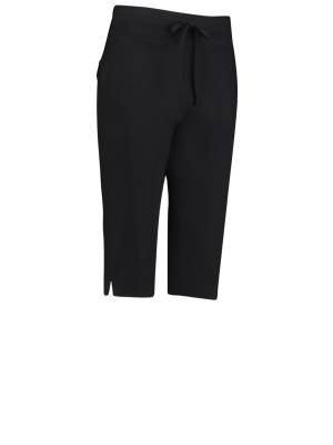 Studio Anneloes 01792 Upstairs capri trouser 9000 black | Pico Women Fashion & More