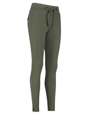 Studio Anneloes 94735 Downstairs bonded trousers 7000 green | Pico Women Fashion & More
