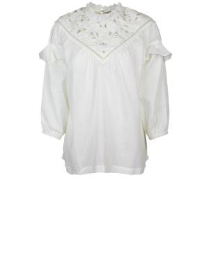 Summum Effen blouse Summum 2s2542-11401 191 Shell