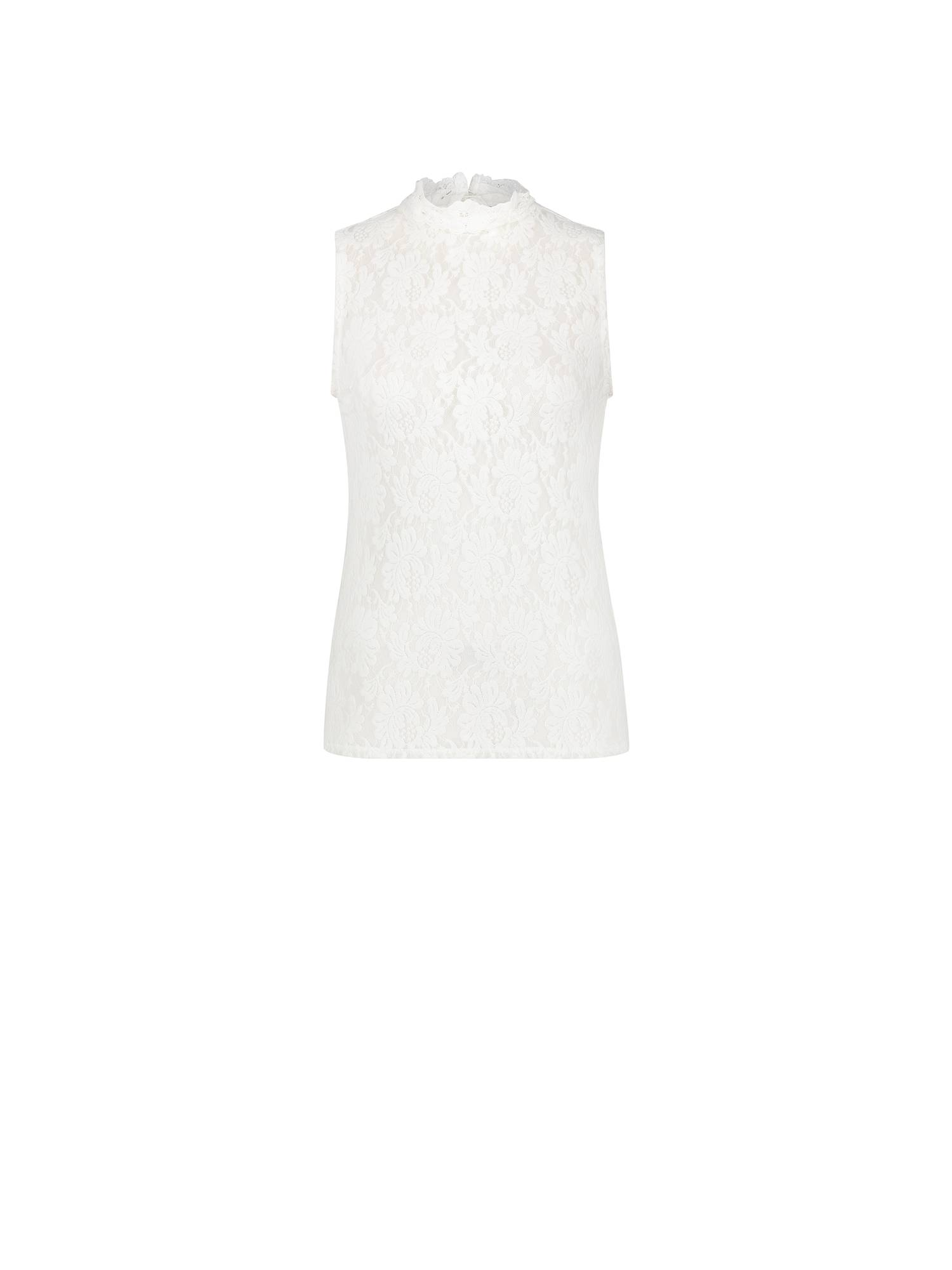 Studio Anneloes 05452 Marilene lace top 1100 off white | Pico Women Fashion & More