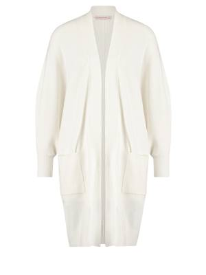 Studio Anneloes Cardigan vest Studio Anneloes 05543 Lola batwing cardigan 1100 off white