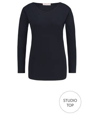 Studio Anneloes Studio top 6900 Dark blue