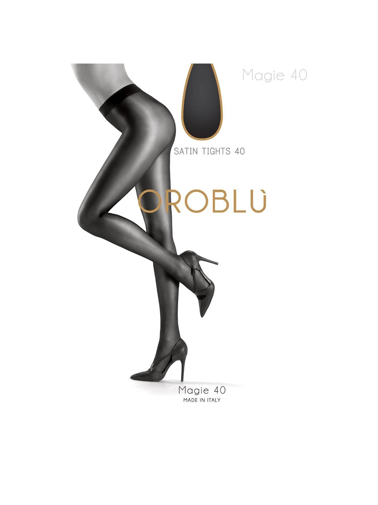 Oroblu Magie 40 Black | Pico Women Fashion & More